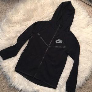 Nike Zip-up Hoodie in Black